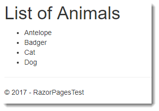 Partial Pages in a Razor Pages application | Learn Razor Pages